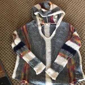 Super Cute new Poncho style sweater
